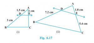 Exercise 6.2 Class 10 Maths Chapter 6 Triangles Solution