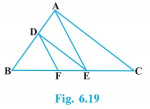 Exercise 6.2 Class 10 triangles solution