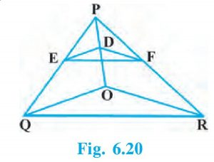 Exercise 6.2 question 4 Triangles