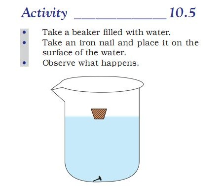 Activity 10.3 Class 9 Science Gravitation Chapter 10