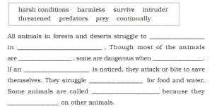 Desert Animals Solution Honeysuckle Chapter 9