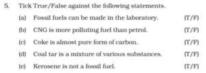 Coal and Petroleum solution Chapter 5 Biology Class 8